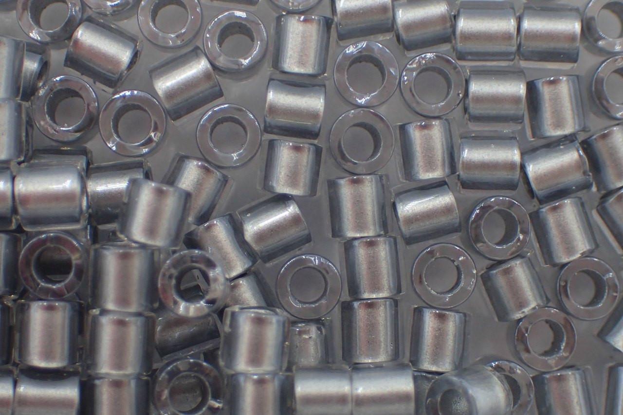8/0 Galvanized Crystal Delica dbl-0271-tb (8 Grams)