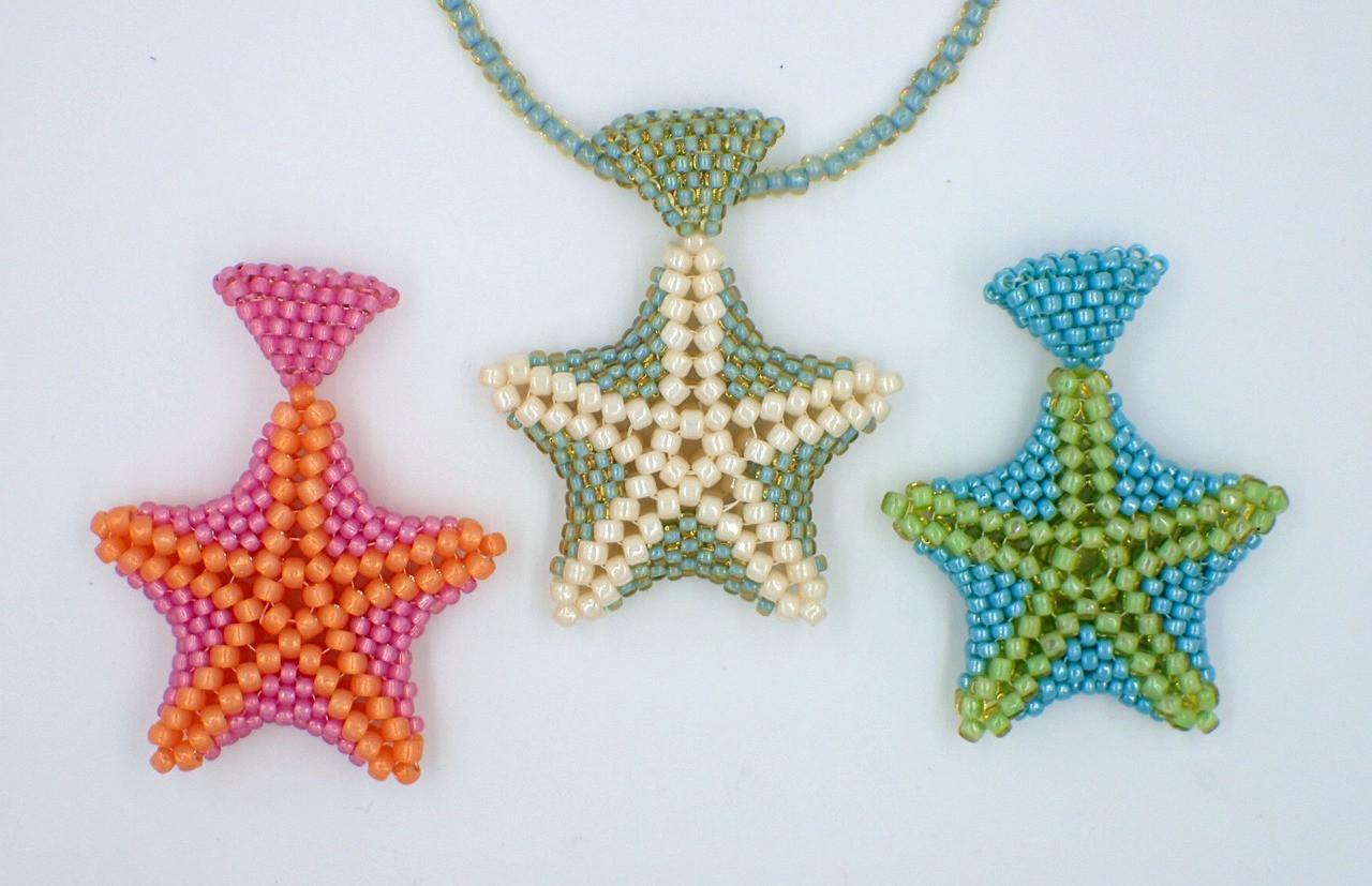 Green & Turquoise Star Fish Pendant Kit