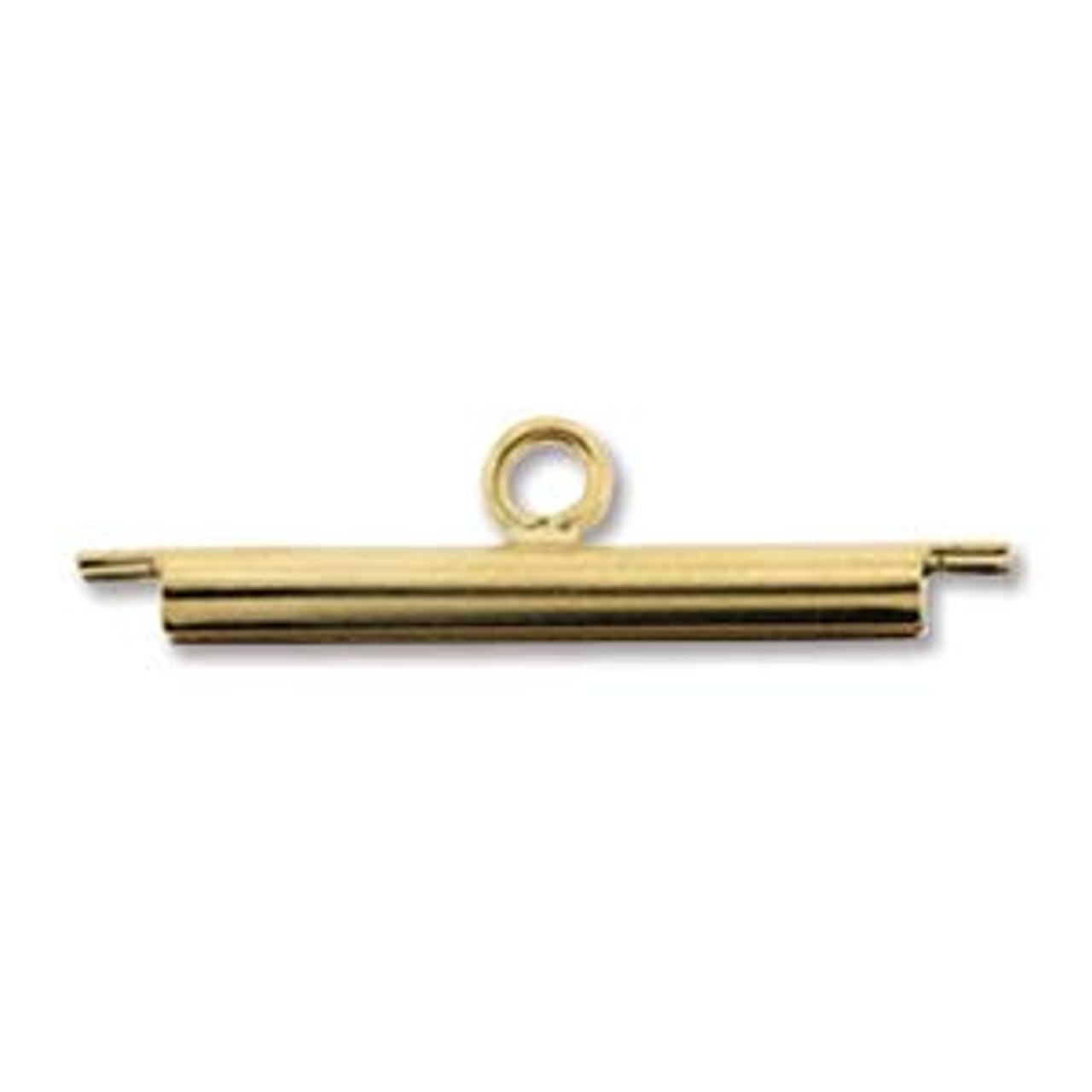 20mm Gold Plated Slide Tube (1 Set)
