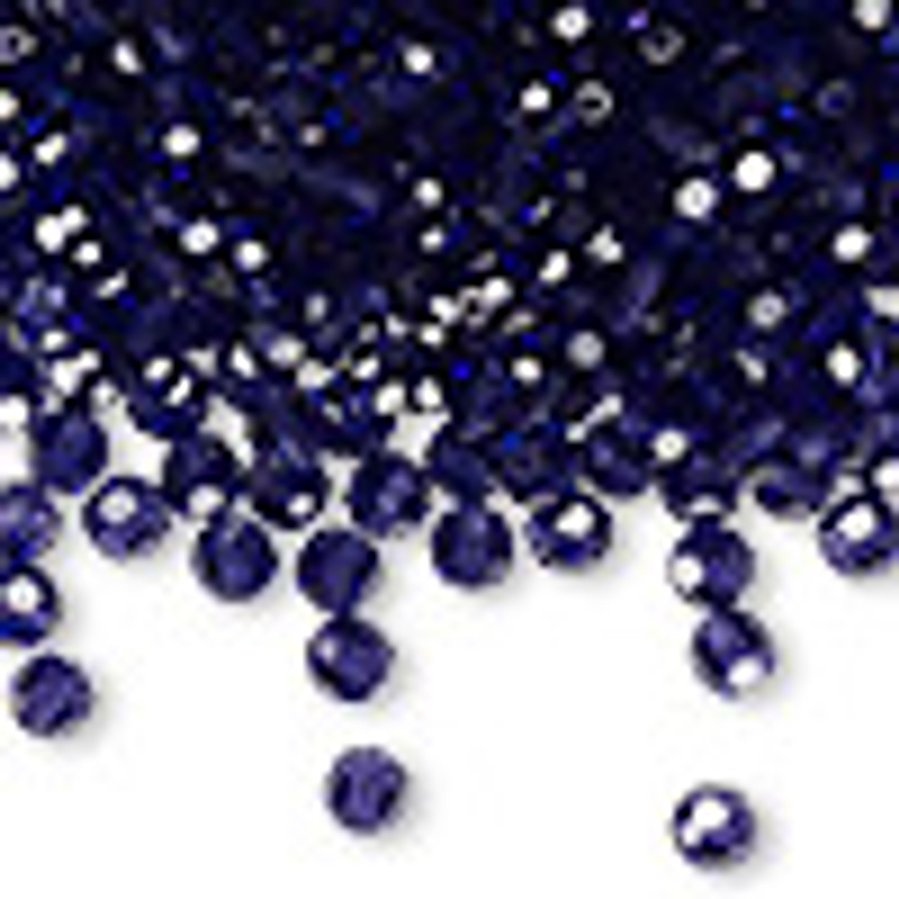 4mm Deep Tanzanite Preciosa Round Crystals (12pk)