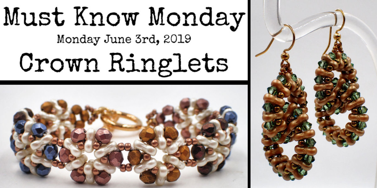 Crown Ringlets INSTANT DOWNLOAD Pattern