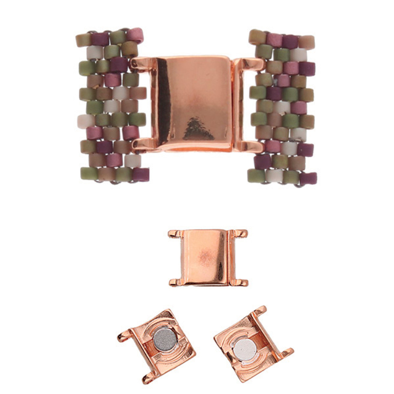 Axos II Delica Magnetic Clasp Rose Gold (1 Clasp)