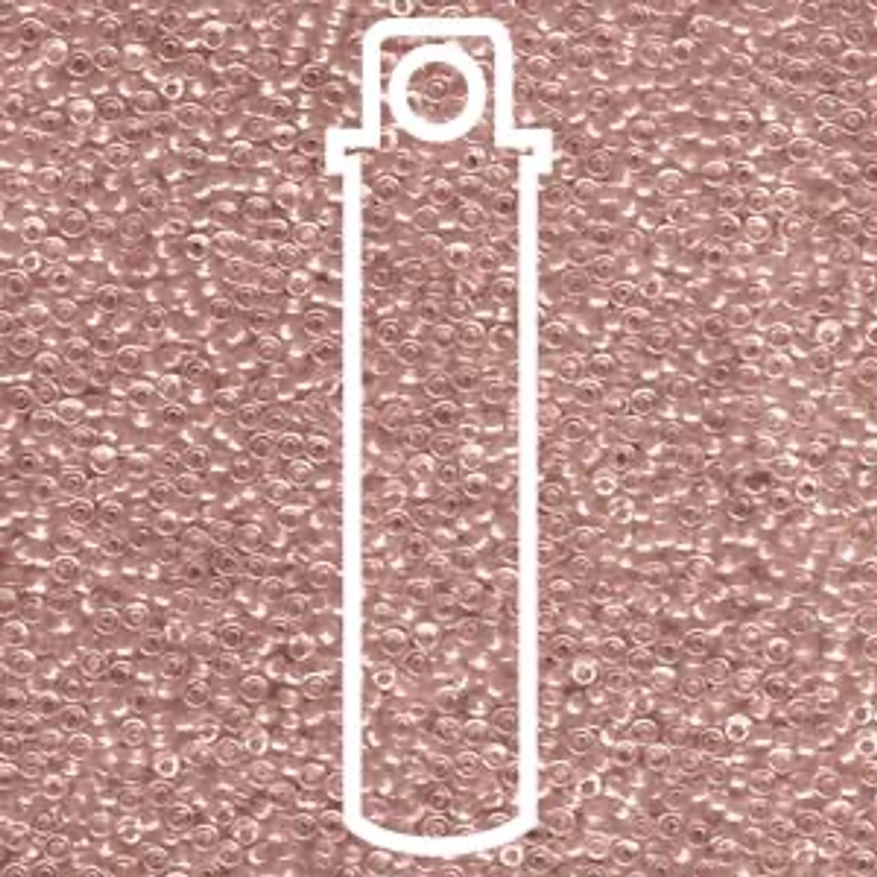 15/0 Sparkling Rose Lined Crystal Miyuki Seed Beads (8.2 Grams) 15-91524