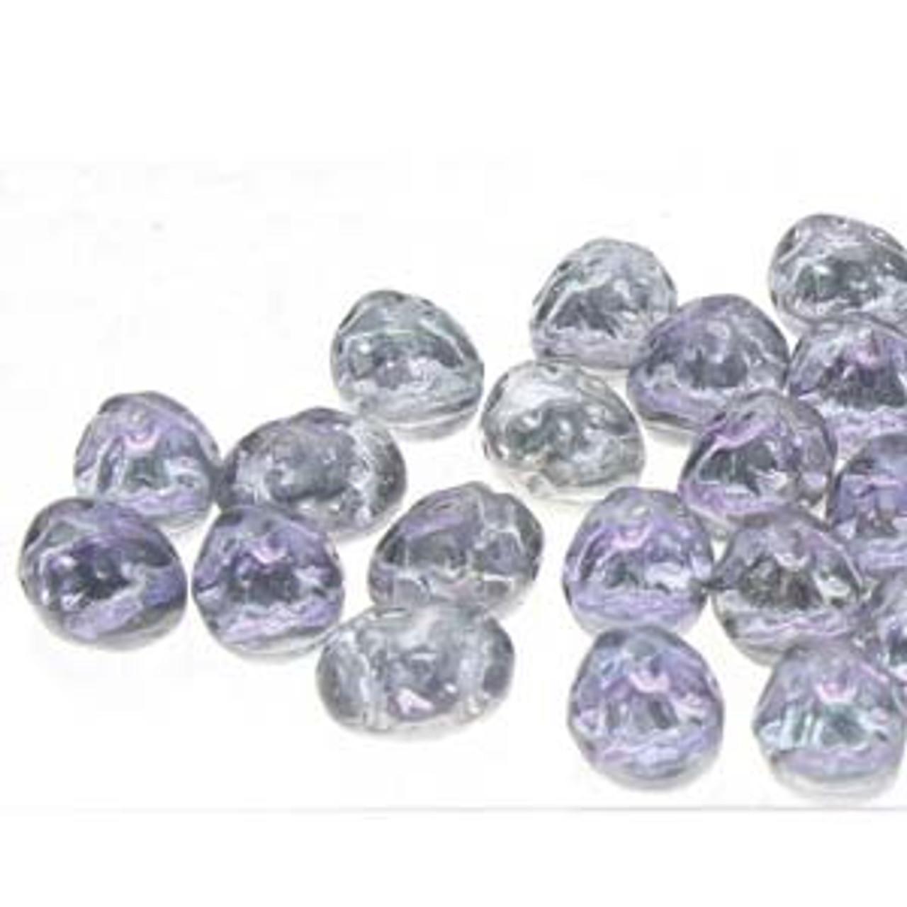 8x6mm Backlit Violet Ic Baroque 2HL Cabochon (20pk)