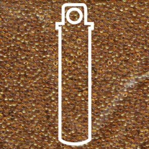 11/0 Transparent Topaz Miyuki Seed Beads (22 Grams) 11-9133