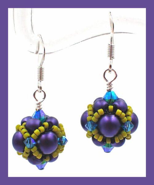 Pearl Beaded Bead INSTANT DOWNLOAD PDF Pattern
