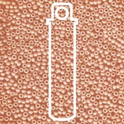11/0 Semi Matte Opaque Salmon Miyuki Seed Beads (20 Grams) 11-9596
