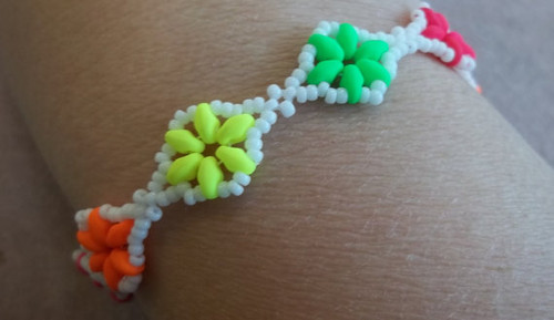Dazzling Duo Bracelet PRINTED PATTERN - Mailed to your home