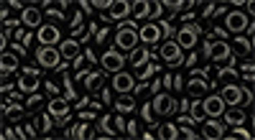 8/0 Suede Dark Green Demi Rounds (8 Grams) 08-Y633