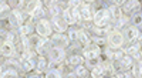 6/0 Transparent RBW Crystal Demi Round (8 Grams) 06-161
