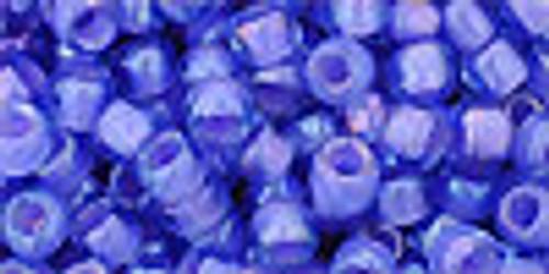 6/0 Inside Color Light Sapphire Purple Lined Toho Seed Beads (20 Grams) 06-934