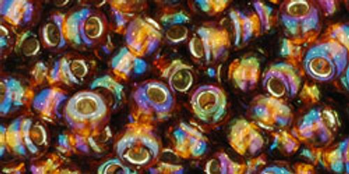 6/0 Silver Lined RBW Topaz Toho Seed Beads (20 Grams) 06-2034