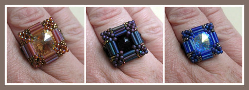 Carnival Ring PRINTED Pattern - Mailed to your home