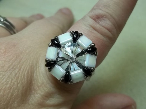 Tell Tell Tila Ring PRINTED Pattern - Mailed to your home