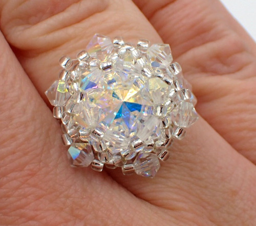 Bling in the New Year Ring PRINTED Pattern - Mailed to your home