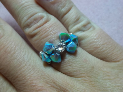 Bow Tie Ring PRINTED Pattern - Mailed to your home