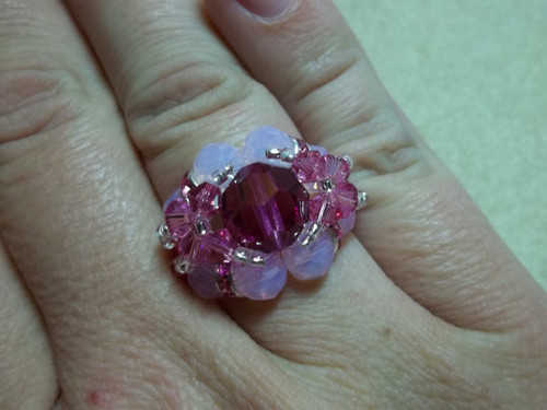 Bling Ball Ring PRINTED Pattern - Mailed to your home