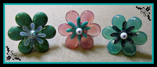 Spring Fling Ring PRINTED Pattern - Mailed to your home