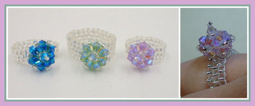 Razzle Dazzle Ring PRINTED Pattern - Mailed to your home