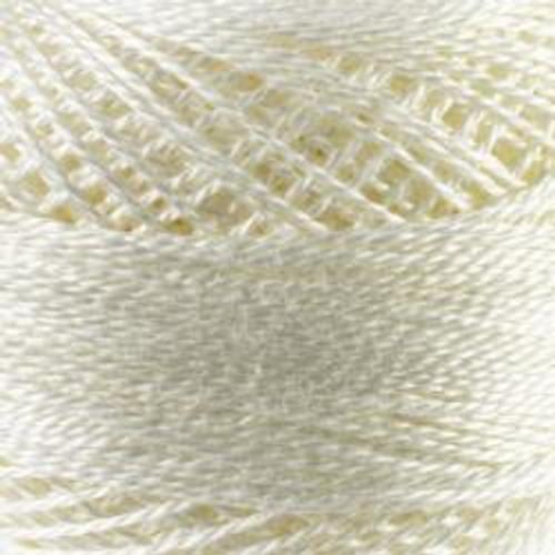 Winter White #8 DMC Pearl Cotton Cord - 87yd spool (#3865)