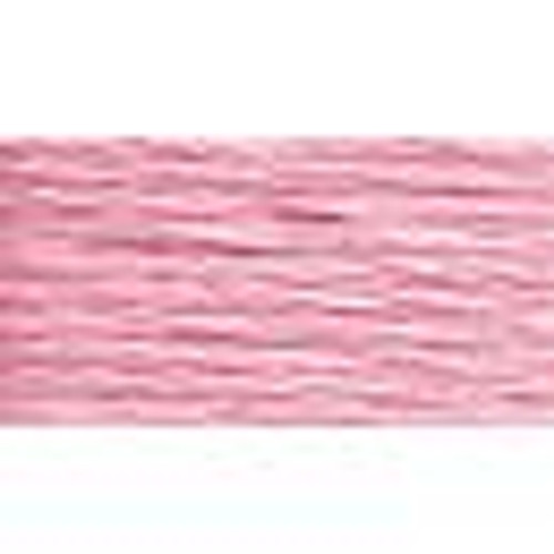 Very Light Cranberry #8 DMC Pearl Cotton Cord - 87yd spool (#605)