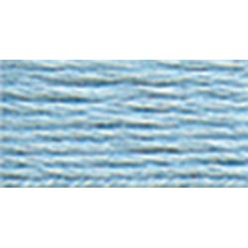 Light Baby Blue #8 DMC Pearl Cotton Cord - 87yd spool (#3325)