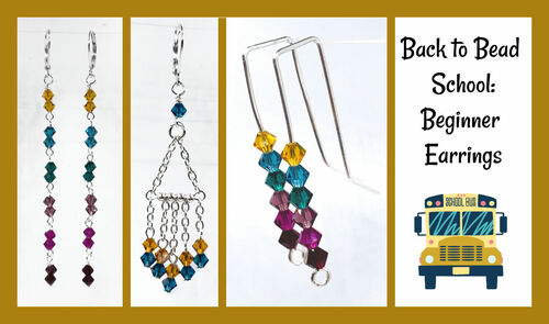 Back to Bead School - Basics of Earring Making - INSTANT DOWNLOAD