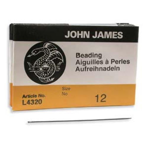 25pk John James Needles Size 12