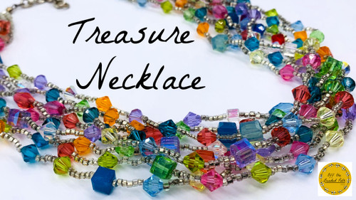 Treasure Necklace PRINTED Pattern - Mailed to your home address