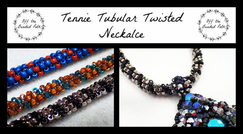 Teenie Tubular Twisted Necklace INSTANT DOWNLOAD Pattern