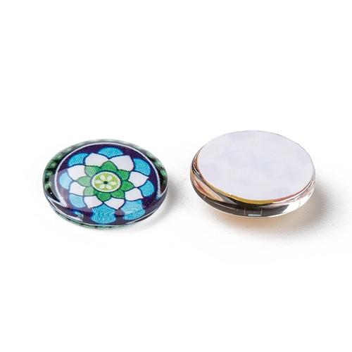 12mm Mosaic Glass Cabochon Mix (6pk)