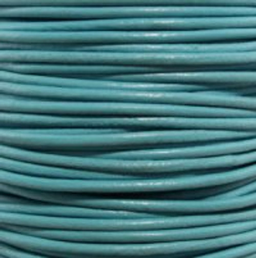 1.5mm Turquoise Leather (2 Meters)