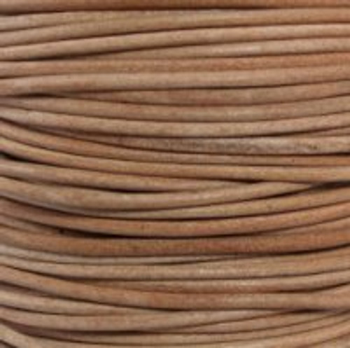 2mm Natural Leather (2 Meters)