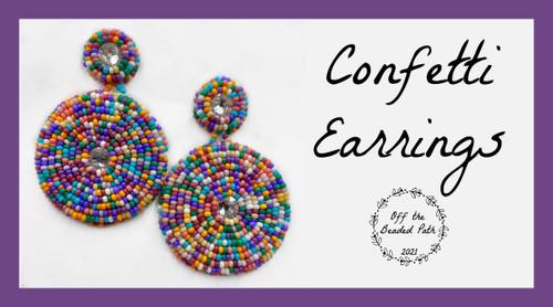 Confetti Earring Kit - Spring Harvest Color