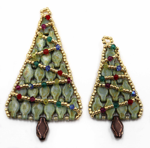 Navette Christmas Tree Kit - Cardamom Color (Makes 1 tree either large or small)