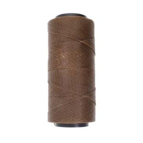 144yds 2 ply Brown Waxed Brazilian Cord