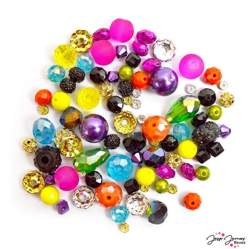 Color Trends Tokyo Nights Bead Mix Jesse James Beads