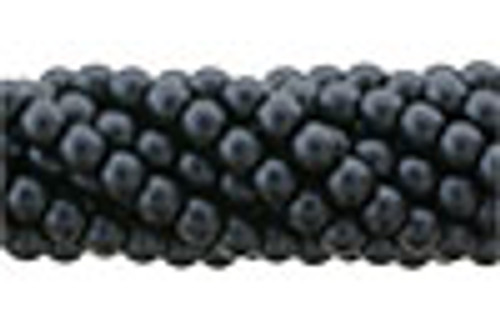 3mm Charcoal Glass Pearls (100pk)
