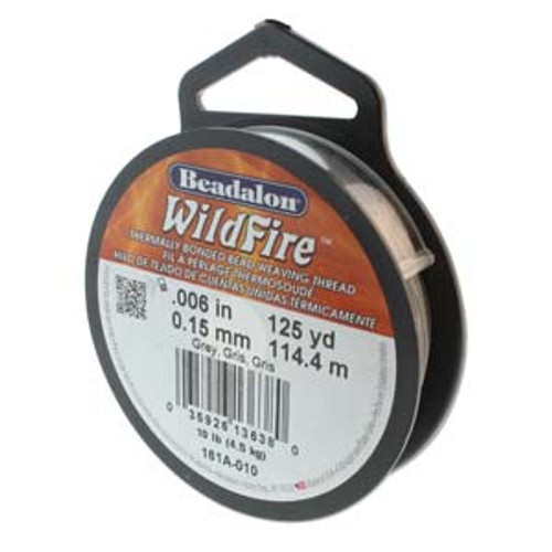 Wildfire, .006 in (.15 mm) Grey - 125yd Spools