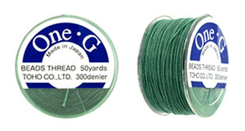 Mint Green One G Thread 50yd spool