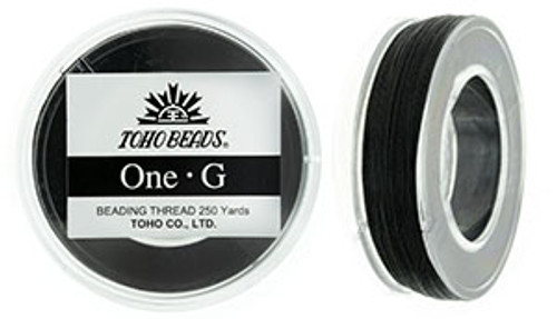 Black One G Thread 250yd Spool