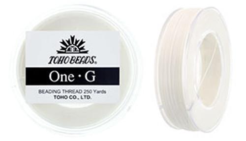 White One G Thread 250yd Spool