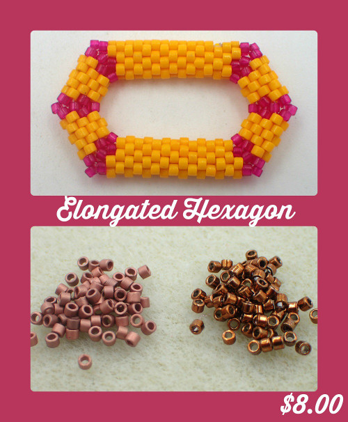 Brown Elongated Hexagon Kit