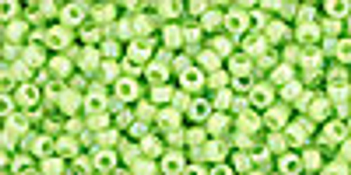 11/0 Opaque RBW Sour Apple TOHO Seed Beads (20 Grams) 11-404