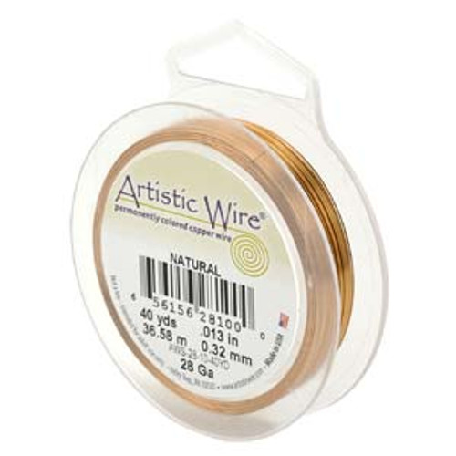 22 Ga. Natural Artistic Wire - 15yds