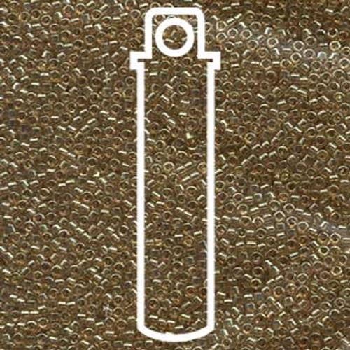 11/0 Gold Luster Rose Delica DB102 (7.2 Grams)