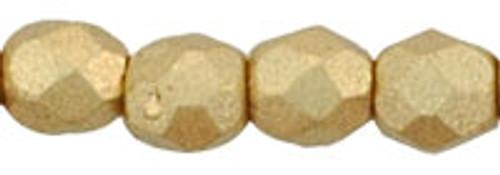 3mm Matte Metallic Flax Fire Polished Rounds