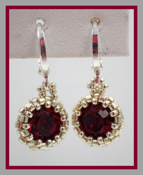 Simplicity Earring Instant Download Pattern