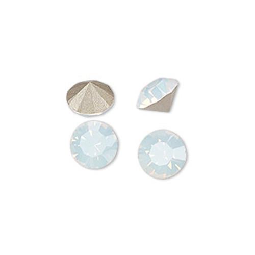 6pk White Opal (SS39) Chaton