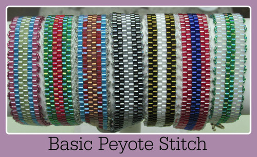 Even Count Peyote Stitch Bracelet Tutorial - INSTANT DOWNLOAD